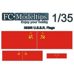 FC-C35706 FC C35706 1/35  Calca adaptable bandera URSS