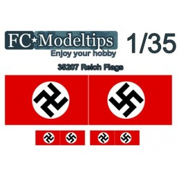 FC-C35707 FC C35707 1/35 calca adaptable bandera Reich