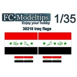 FC-C35718 FC C35711 1/35 Banderas adaptables Irak