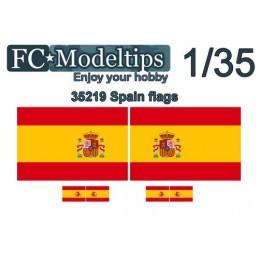 FC-C35719 FC C35719 1/35 Banderas adaptables España