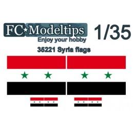 FC-C35721 FC C35721 1/35 Banderas adaptables Siria