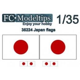 FC-C35724 FC C35724  1/35 Banderas adaptables Japón