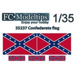 FC-C35737 FC C35737  Bandera adaptable confederada escala 1/35