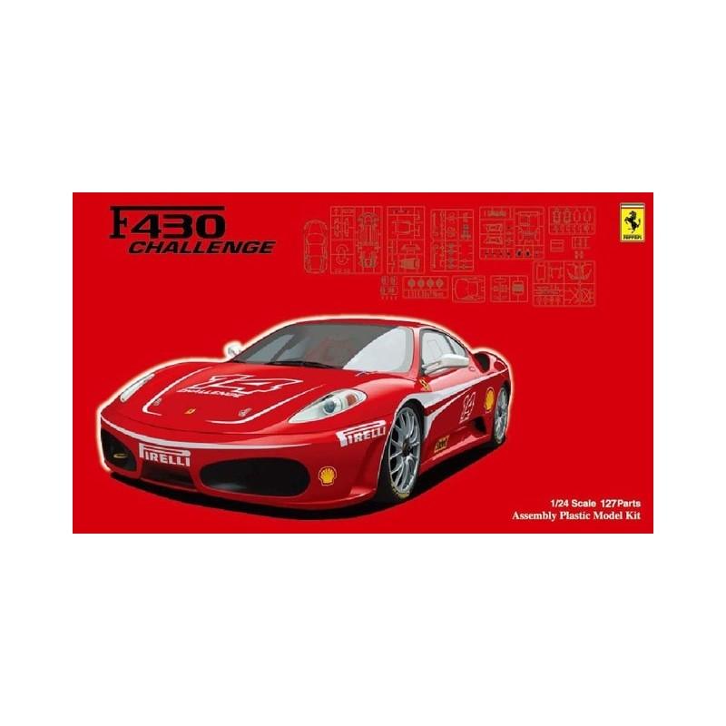 FUJ-12636 FUJIMI 12636 1/24 Ferrari F430 Challenge