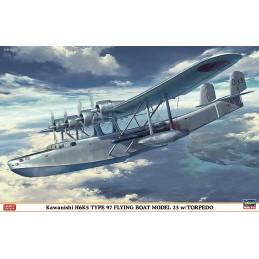 HA-02163 HASEGAWA 02163 1/72 TYPE 97 FLYING BOAT 23