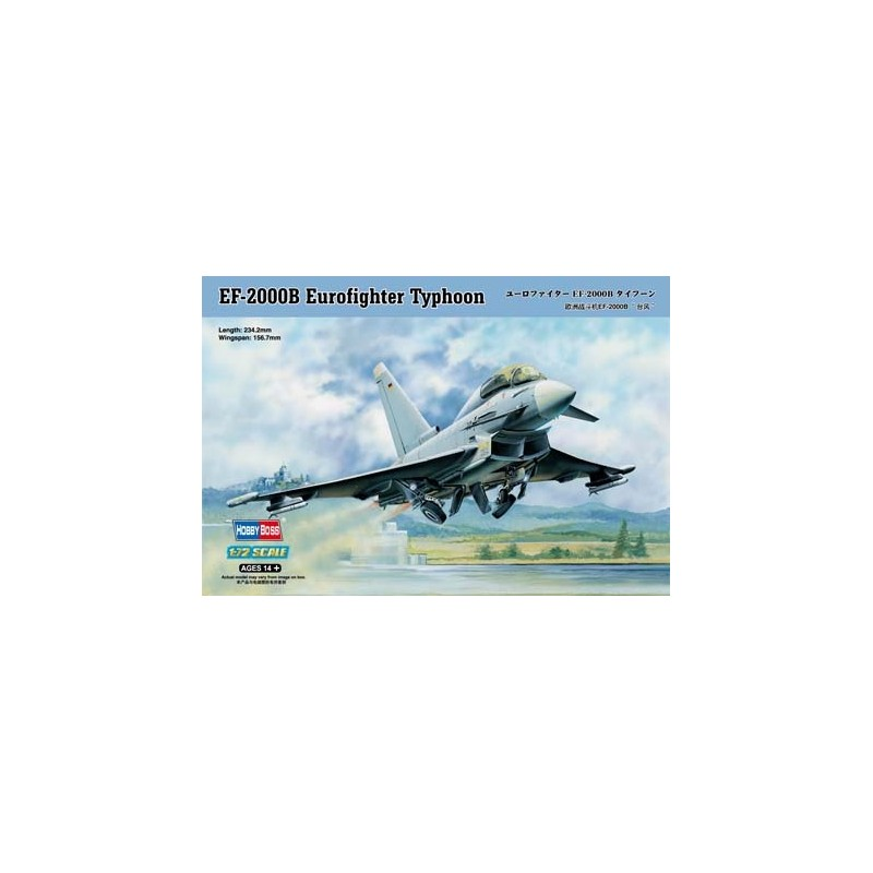 HB-80265 Hobby Boss 80265 1/72 EF-2000B Eurofighter Typhoon