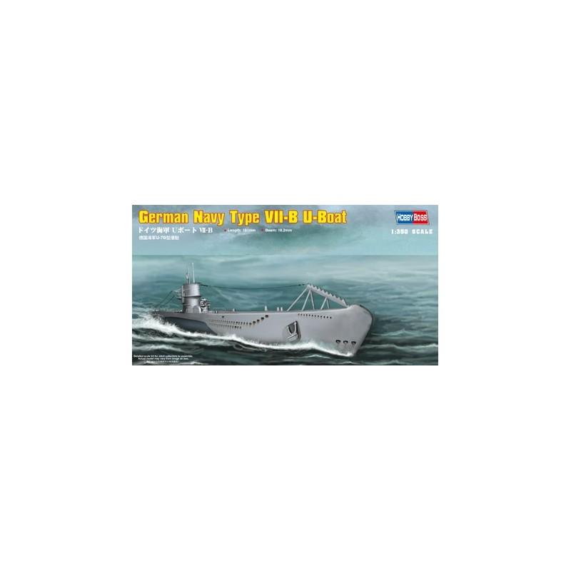HB-83504 1/350 HOBBY BOSS German Navy Type VII-B U-Boat