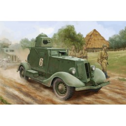 HB-83882 Hobby Boss 83882 1/35 Ba-20 Armored car (Model1937r.)