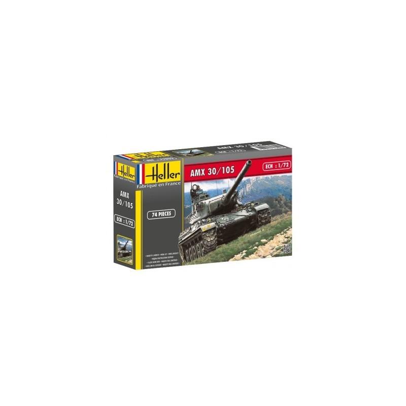 HEL-79899 Heller 79899 1/72 AMX 30/105