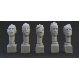 HOR-HH23 1/35 bandaged heads