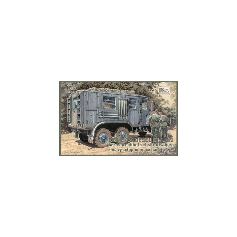 IBG-35004 1/35 Einheitsdiesel Kfz.61 Fernsprechbetriebskrafwagen (heavy telephone exchange vawon)