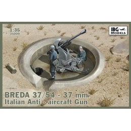 IBG-35009 IBG 35009 1/35 BREDA 37/54 37mm Italian Anti-aircraft Gun