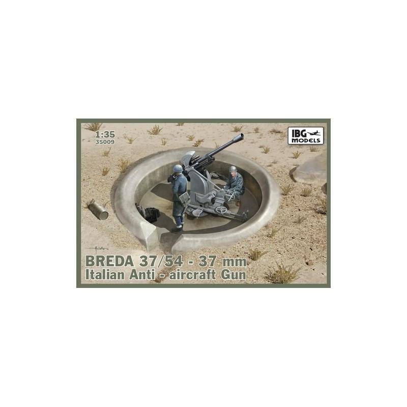 IBG-35009 IBG 35009 1/35 BREDA 37/54 37mm Italian Anti-aircraft Gun