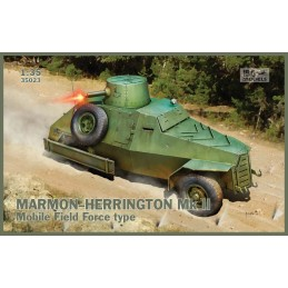IBG-35023 1/35 MARMON-HERRINGTON Mk.II  Mobile Field Force type+fotograbados