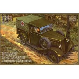 IBG-72010 1/72 IBG 72010 Polski Fiat 508/III ambulans (ambulance)