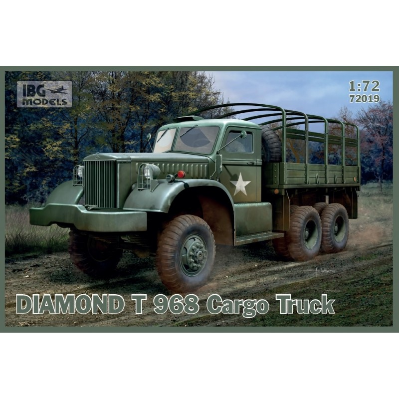 IBG-72019 1/72 IBG 72019 DIAMOND T 968 Cargo Truck
