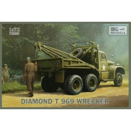 IBG-72020 IBG 72020 1/72 DIAMOND T 969 Wrecker