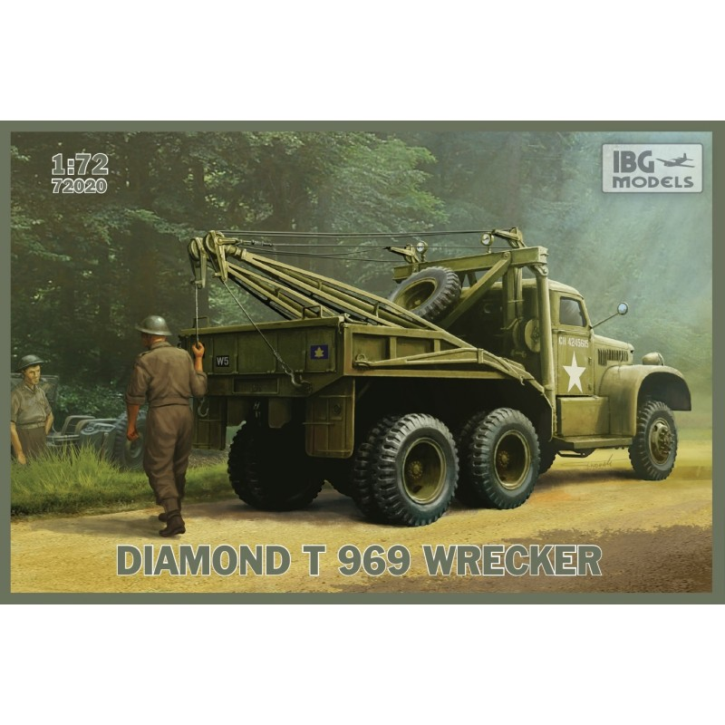 IBG-72020 IBG 72020 1/72 DIAMOND T 969 Wrecker
