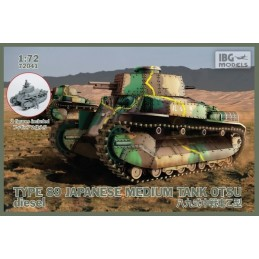 IBG-72041 IBG 72041 1/72 TYPE 89 Japanese Medium tank OTSU-diesel -