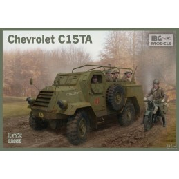 IBG-72053  IBG 72053 1/72 Chevrolet C15TA -