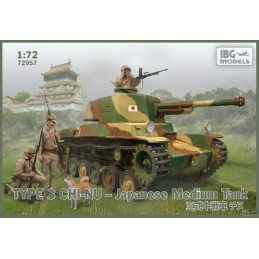IBG-72057 IBG 72057  1/72 Type 3 Chi-Nu Japanese Medium Tank