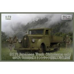 IBG-72060 IBG  72060 1/72 917t Japanese Truck (Yokohama cab) -
