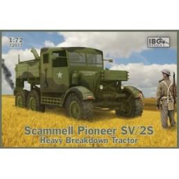 IBG-72077 IBG 72077 1/72 Scammell Pioneer SV/2S Heavy Breakdown Tractor