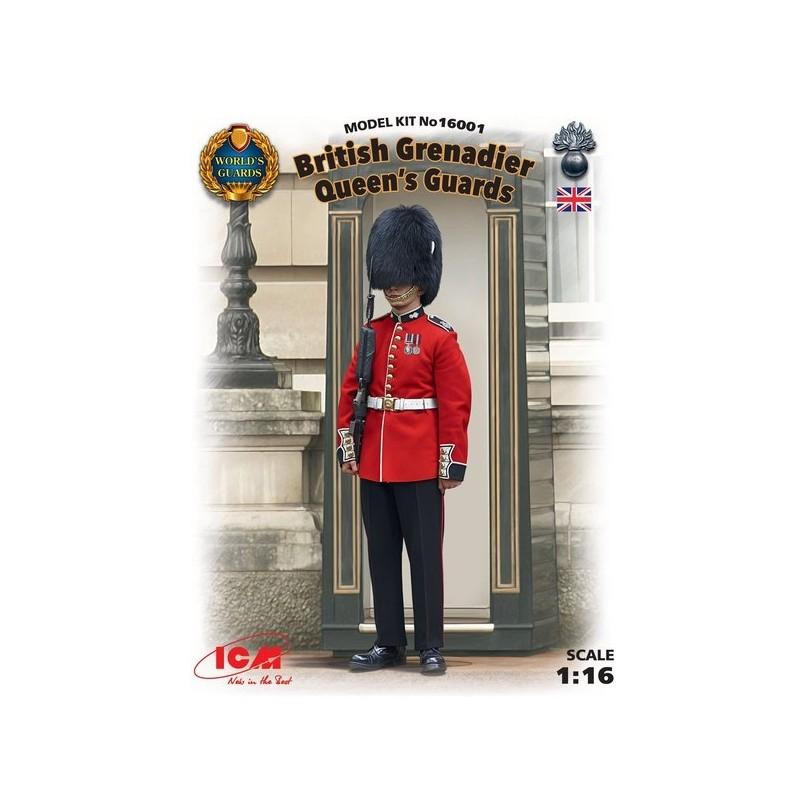 ICM-16001  ICM 16001 1/16 British Grenadier Queen.s Guards (100% new molds)