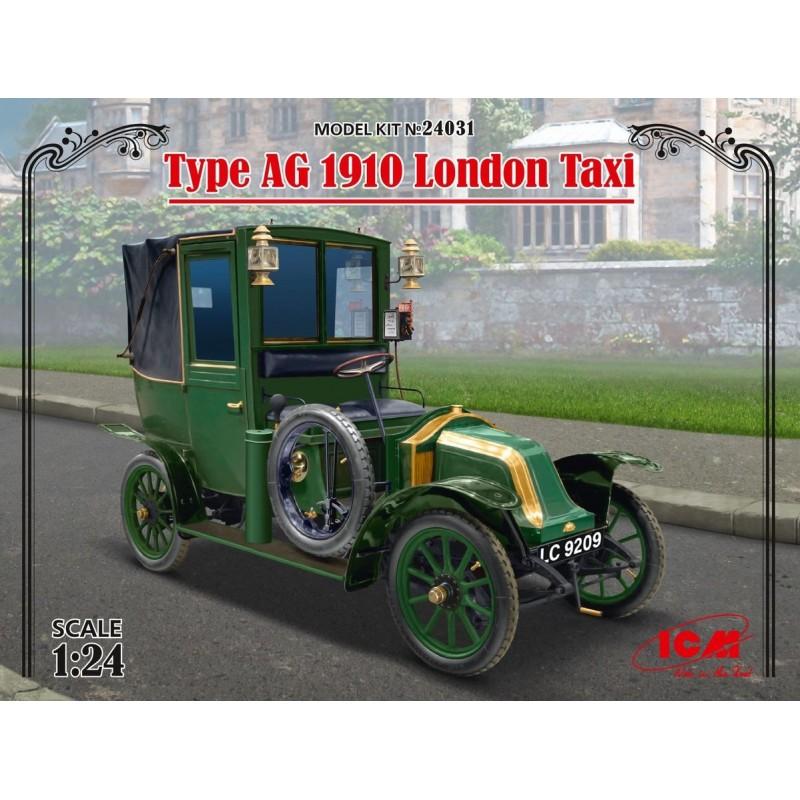 ICM-24031 ICM 24031 1/24 Type AG 1910 London Taxi