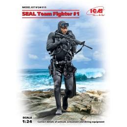 ICM-24111 ICM 24111 1/24 SEAL Team Fighter 1