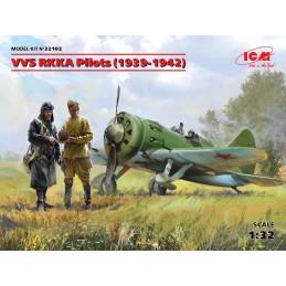 ICM-32102 ICM 32102   1/32 VVS RKKA Pilots (1939-1942?.) (3 figures) (100% new molds)