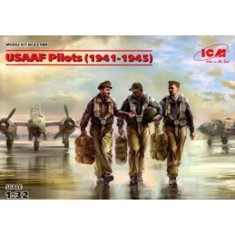 ICM-32104 ICM 32104 1/32 USAAF Pilots (1941-1945)