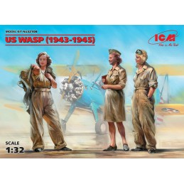 ICM-32108 ICM 32108 1/32 US WASP (1943-1945) - 3 figures
