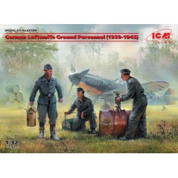 ICM-32109 ICM 32109 1/32 German Luftwaffe Ground Personnel (1939-1945)