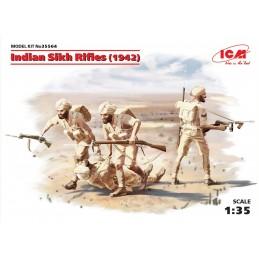 ICM-35564 1/35 Indian Sikh Rifles (1942) (4 figures)