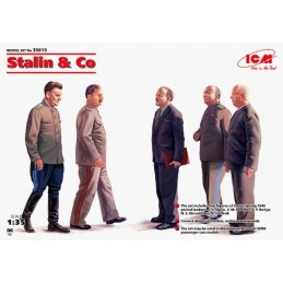 ICM-35613 1/35 ICM 35613 Stalin and Co Model Figures