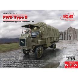 ICM-35655 icm 35655 1/35 FWD Type B. WWI US Army Truck