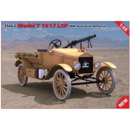 ICM-35663 ICM 35663 1/35 Model T 1917 LCP Australian Army