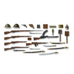 ICM-35672 1/35 ICM 35672 WWI Russian Infantry Weapon and Equipment