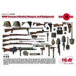 ICM-35678 1/35 ICM 35678 WWI German Infantry Weapon and Equipment