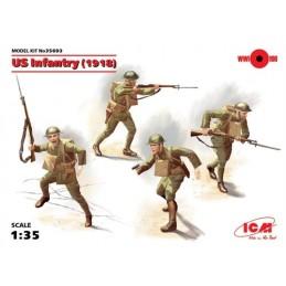 ICM-35693 ICM 35693 1/35 US Infantry 1918