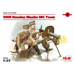 ICM-35698 ICM 35698 1/35 Russian Maxim MG Team