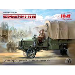 ICM-35706 icm 35706 1/35 US Drivers (1917-1918)