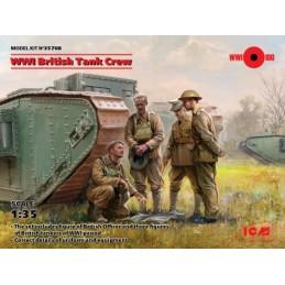 ICM-35708 ICM 35708 1/35 WWI British Tank Crew