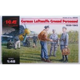 ICM-48085 CM 48085 1/48 German Luftwaffe Ground Personnel 1939-1945