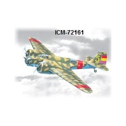 ICM-72161 icm 72161 1/72 SB 2M-100 Katiushka, Spanish Air Force Bomber