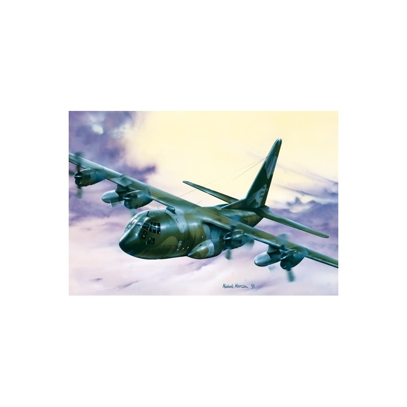 ITA-0015 ITALERI 0015 1/72 C-130 H HERCULES
