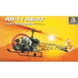 ITA-0095 ITALERI 0095 1/72  BELL AH-1/AB-47