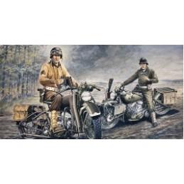 ITA-0322 ITALERI 0322 1/35 U.S. MOTORCYCLES WW2