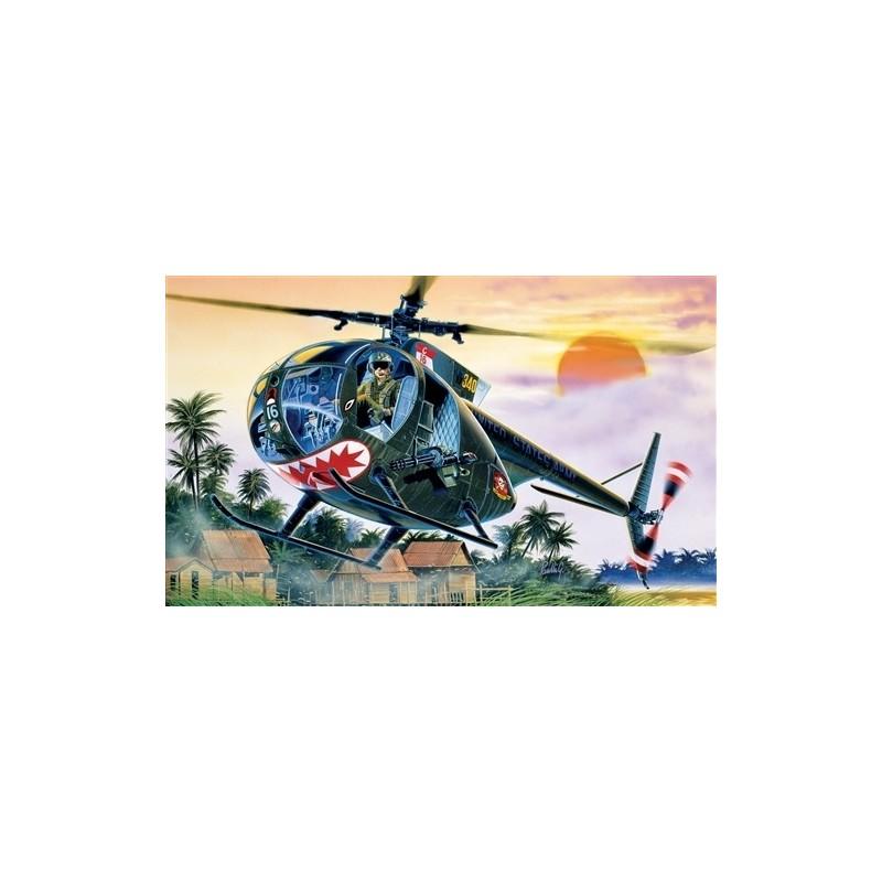 ITA-1028 ITALERI 1028 1/72 OH-6 A CAYUSE- Calcas Españolas.
